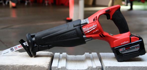 Milwaukee M18 Fuel Sawzall with One-Key clearer