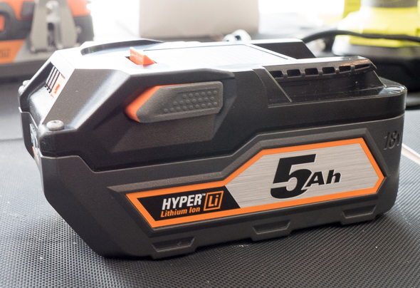 Ridgid 18V 5Ah Battery Pack