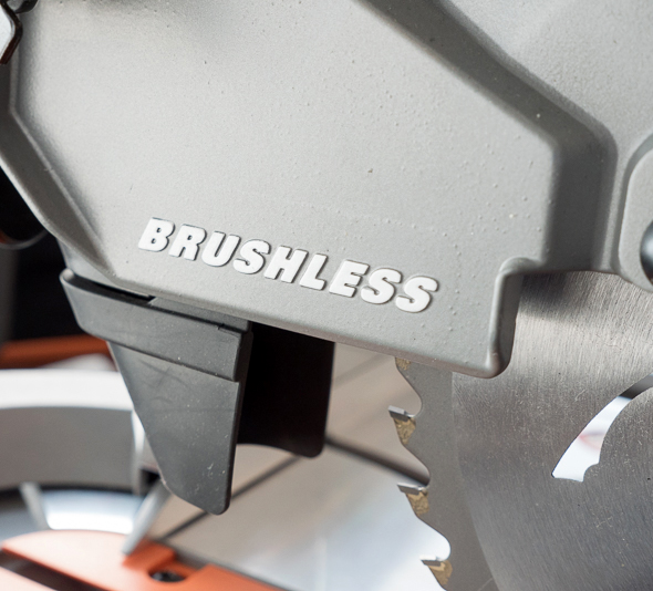 Ridgid 18V Cordless Miter Saw Handle Dust Chute