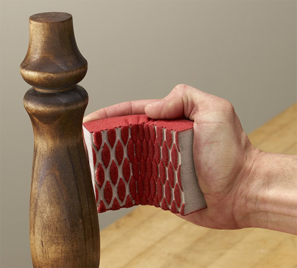 3M Pro Grade Precision Sanding Sponge Curved