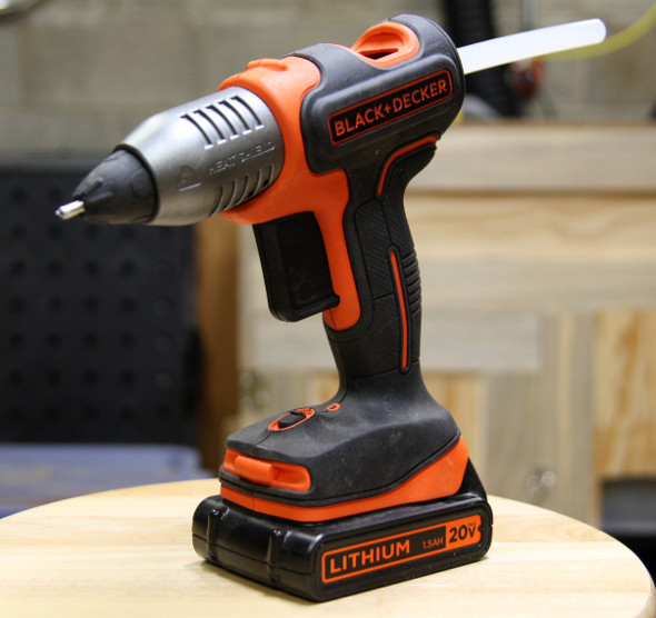 Black and Decker Hot Glue Gun Product Shot