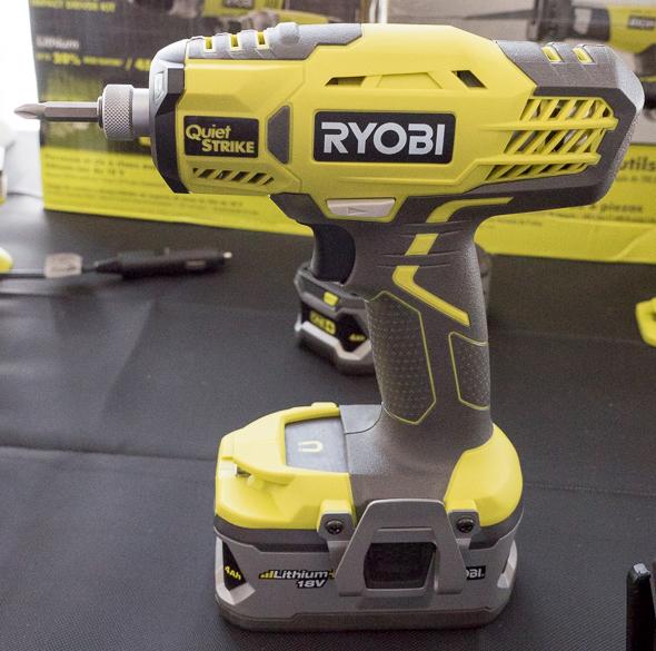 Ryobi 18V Quiet Strike Oil Impulse Driver