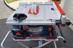 More Bosch Reaxx Table Saw Hesitations