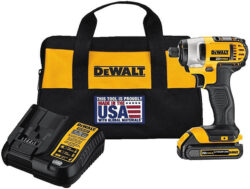 New Dewalt Single-Battery 20V Max Impact Driver Kit