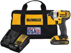 New Dewalt Single-Battery 20V Max Impact Driver Kit