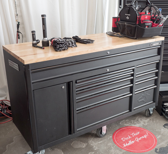 Home depot holiday 2016 tool storage deals Home depot husky garage cabinets