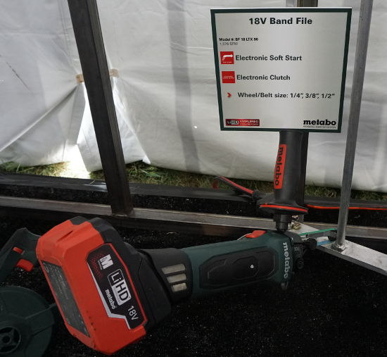 Metabo 18V band file