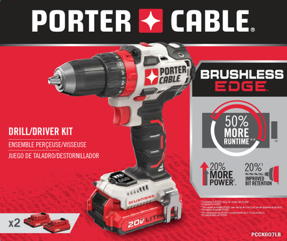 New Porter Cable Brushless Drill And Impact Drivers Coming
