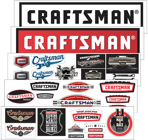 craftsman-decal-set