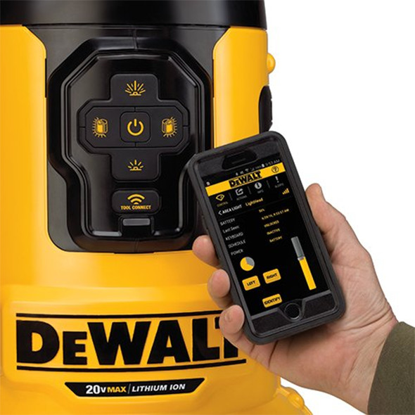 Dewalt Flexvolt Dcl070 Bluetooth Led Area Worklight