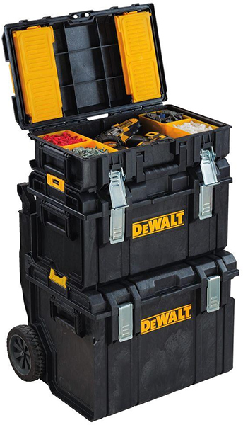 Dewalt Ds130 Toughsystem Tool Box Stacked