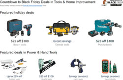 Amazon Holiday 2016 Tool Deals