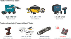 Amazon Tool Deals of the Day + New Promos (12/9/2016)