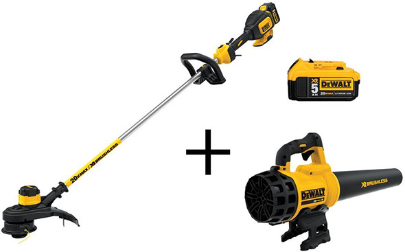 dewalt-20v-max-trimmer-blower-and-battery-bundle