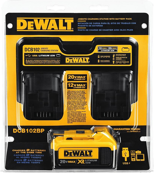dewalt-dcb102-20v-max-double-charger-with-4ah-battery-pack-starter-kit