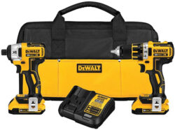 HOT DEAL: Dewalt 20V Max Brushless Drill & Impact Combo (11/10/2016)