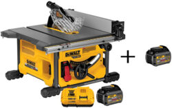 Dewalt FlexVolt Promo: Buy a Kit, Get a Free Bonus Battery!