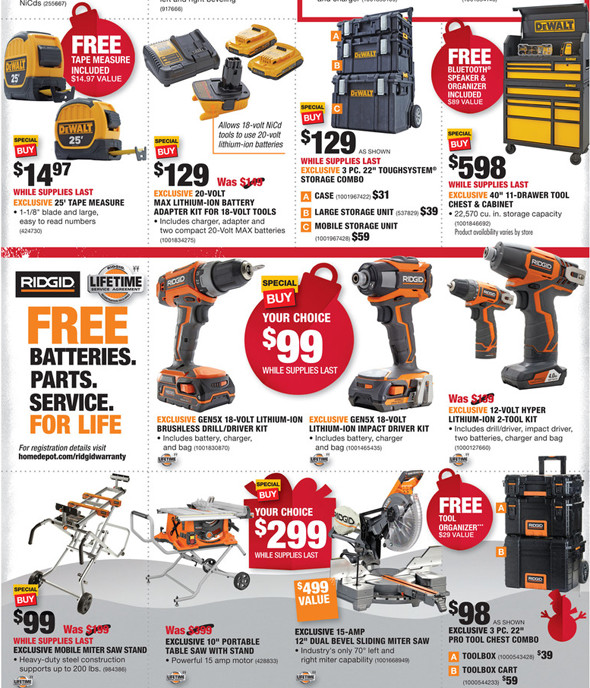 home depot black friday: home depot black friday ridgid vac