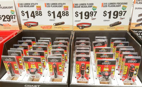 home-depot-black-friday-2016-tool-deals-coast-led-flashlights