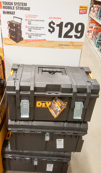 Home Depot Holiday 2016: Tool Storage Deals