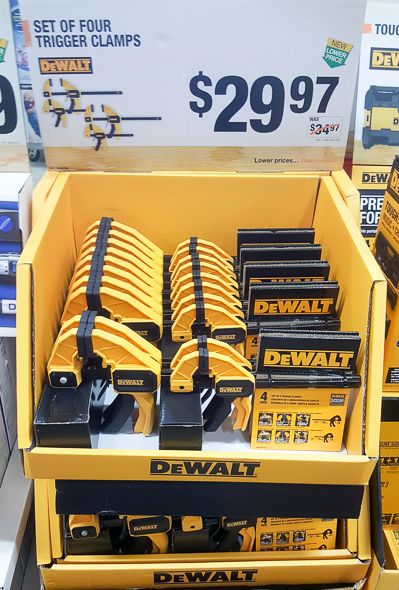 home-depot-black-friday-2016-tool-deals-dewalt-trigger-clamp-set