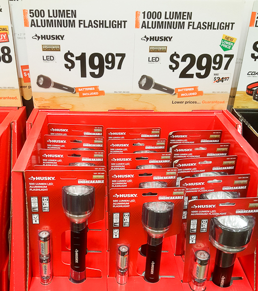 home-depot-black-friday-2016-tool-deals-husky-500-and-1000-lumen-led-flashlights