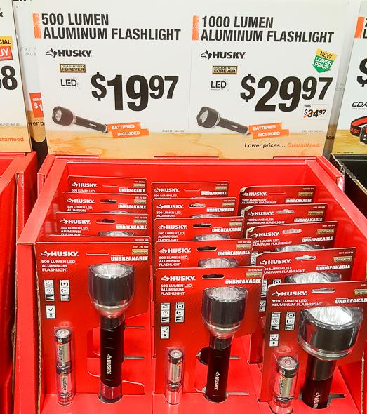 home-depot-black-friday-2016-tool-deals-husky-500-and-1000-lumen-led-flashlights