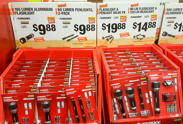 Home Depot Black Friday 2016 Tool Deals: LED Flashlights
