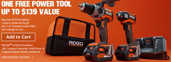 ridgid black friday 2016 tool deals at home depot
