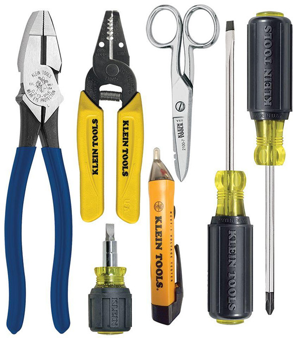 klein-7pc-electricians-wiring-and-testing-tool-set
