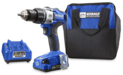 'Deal of the Day: Kobalt 24V Max Brushless Drill Kit for $99 (11/18/2016)' from the web at 'http://toolguyd.com/blog/wp-content/uploads/2016/11/Kobalt-24V-Max-Brushless-Drill-Kit-250x153.jpg'