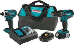Deal of the Day: Makita 18V Hammer Drill and Impact Driver Kit for $149 (11/26/16)