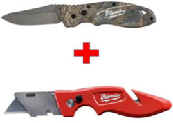 Milwaukee FastBack Knife 2 for $15 Deal