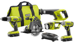 Deal of the Day: Ryobi Cordless Combo Kit