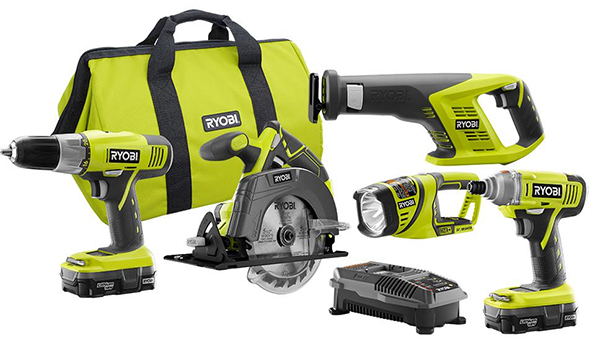 Deal Of The Day Ryobi Cordless Combo Kit