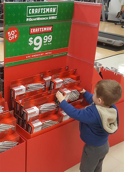 toolguyd-junior-picking-up-craftsman-wrench-set