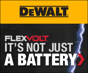 Dewalt FlexVolt Not Just a Battery Banner