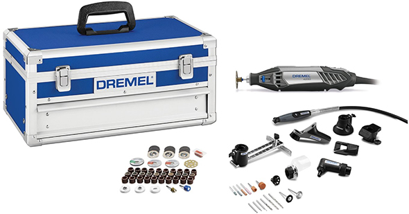 Dremel 4200-8-64 Corded Rotary Tool Kit with EZ Change 77-Piece Platinum Edition