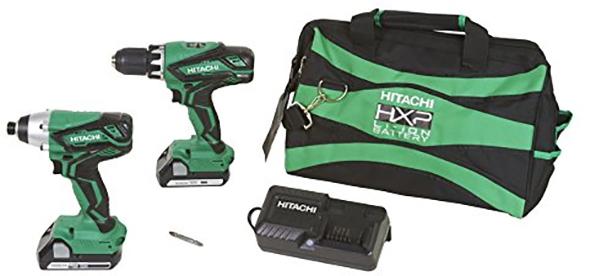 Hitachi KC18DGL 18V Drill and Impact Driver Kit