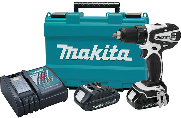 Makita XFD01RW 18V Compact Driver-Drill Kit