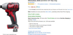 No, Amazon is NOT a Milwaukee Tool Authorized Dealer