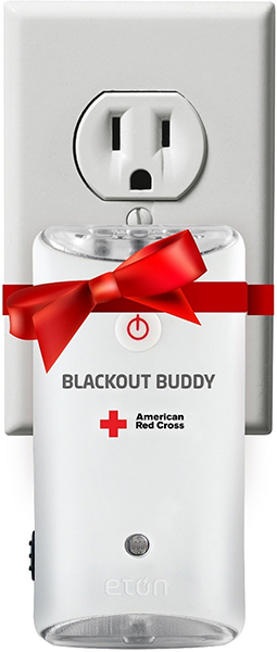 The American Red Cross Blackout Buddy Emergency LED Flashlight