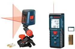 Bosch GLL2 Laser Level and GLM 30 Distance Measuring Tool