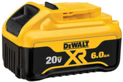 Hot Deal: Dewalt 20V Max 6.0Ah Battery 2-Pack (Best Price per Amp-Hour!)