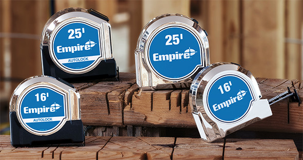Empire Tape Measures 2017 Lineup