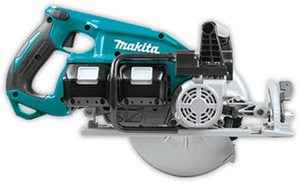 Makita XSR01 Brushless 36V Circular Saw Side View