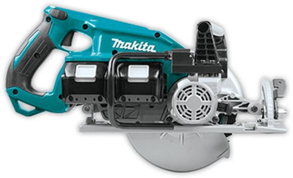 Makita XSR01 Brushless 36V Circular Saw Side View