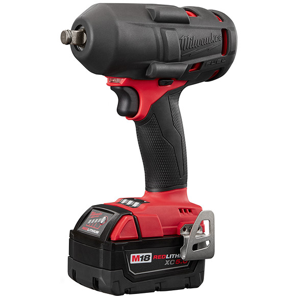 Milwaukee 2861 M18 Fuel Mid-Torque Impact Wrench with Protective Boot