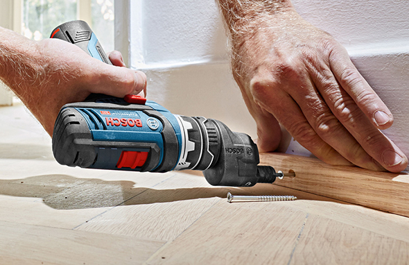 Bosch 12V Flexi-Click 5-in-1 Drill Driver with Offset Adapter