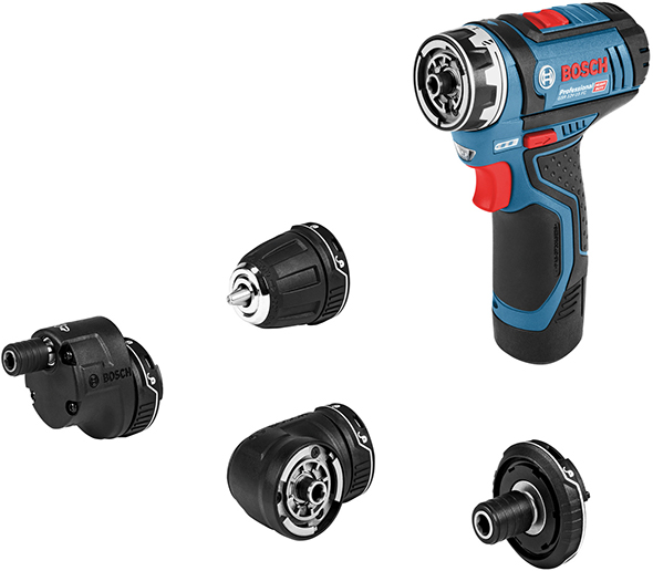 Bosch 12V Flexi-Click 5-in-1 Drill Driver